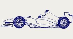 Corsa di formula 1 illustrazione di stock