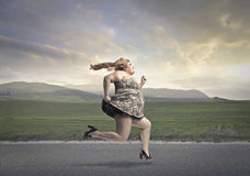 Corsa di gravità fotografia stock libera da diritti