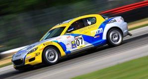 Corsa di Mazda Immagini Stock