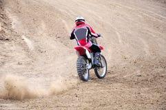 Corsa di Moto immagini stock