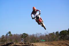 Corsa di motocross immagine stock libera da diritti