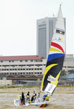 Corsa di navigazione della tazza 2008 di monsone Fotografia Stock Libera da Diritti
