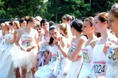 Corsa di nozze Fotografia Stock