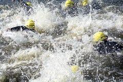Corsa di nuoto Fotografia Stock