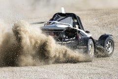 Corsa di raduno di Autocross fotografia stock