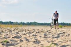 Corsa di riciclaggio del deserto Fotografia Stock