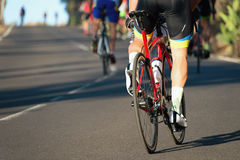 Corsa di riciclaggio della concorrenza all'alta velocità Fotografia Stock