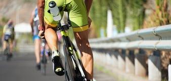 Corsa di riciclaggio della concorrenza all'alta velocità Fotografie Stock