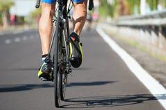 Corsa di riciclaggio della concorrenza all'alta velocità Fotografie Stock Libere da Diritti