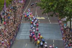 Corsa di strada olimpica del ` s degli uomini Fotografie Stock Libere da Diritti