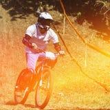 Corsa in discesa di estremo Fotografie Stock Libere da Diritti