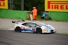 Corsa eccellente del ¡ n Trofeo di Lamborghini Huracà a Monza Immagini Stock Libere da Diritti