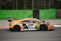 Corsa eccellente del ¡ n Trofeo di Lamborghini Huracà a Monza Fotografia Stock Libera da Diritti