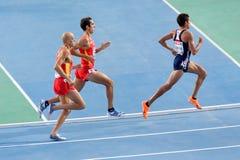 Corsa europea di atletismo Fotografia Stock