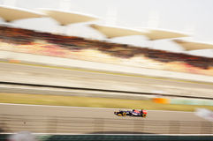 Corsa F1 Fotografie Stock