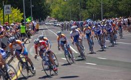 Corsa finale - downunder di giro Fotografia Stock Libera da Diritti