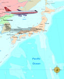 Corsa Giappone illustrazione vettoriale