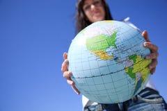 Corsa globale Fotografia Stock Libera da Diritti
