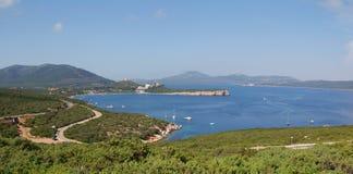 Corsa - mare della Sardegna Immagini Stock
