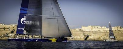 Corsa media del mare di Rolex Fotografie Stock