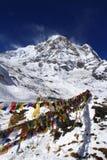 Corsa Nepal: Annapurna del sud Immagine Stock Libera da Diritti