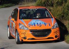 Corsa Peugeot 208 van Vetturada Stock Foto
