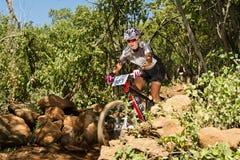 Corsa provinciale centrale di Gauteng intorno a 1 Fotografia Stock