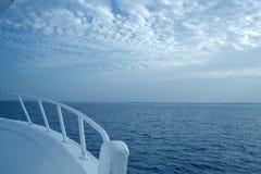 Corsa sull'yacht Fotografia Stock