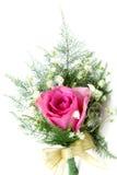 Corsage cor-de-rosa da cor-de-rosa Foto de Stock