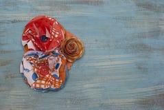 Corsage de fleur de papier Photo libre de droits