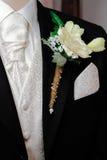 Corsage dello sposo Immagini Stock Libere da Diritti
