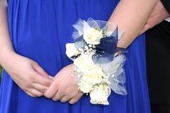 Corsage do baile de finalistas Imagens de Stock Royalty Free