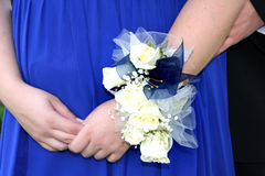 Corsage do baile de finalistas Foto de Stock Royalty Free