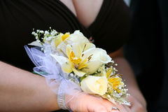Corsage Side View Stock Images