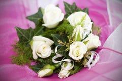 Corsages de mariage Image stock
