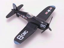 Corsair di F-4U su bianco Fotografie Stock Libere da Diritti