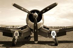 Corsair Fighter Plane Stock Images