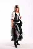 Corsair girl. Pirates of the Caribbean Royalty Free Stock Image