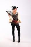 Corsair girl. Pirates of the Caribbean Stock Photography