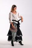 Corsair girl. Pirates of the Caribbean Stock Photos
