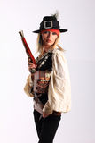 Corsair girl Royalty Free Stock Photography