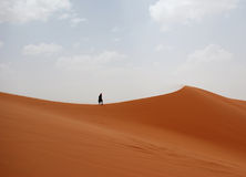 Morocco desert. The picture was taken in Sahara desert, Morocco royalty free stock photo