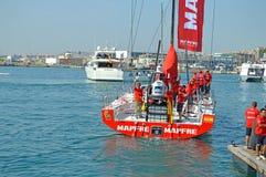Corse 2014 - 2015 dell'oceano di Mapfre Volvo Fotografia Stock