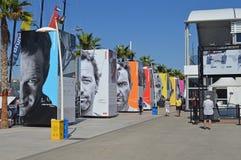 Corse 2014 - 2015 dell'oceano di Volvo del villaggio della corsa Immagini Stock Libere da Diritti