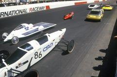 500 corse di automobile solari ed elettriche, AZ Fotografia Stock Libera da Diritti