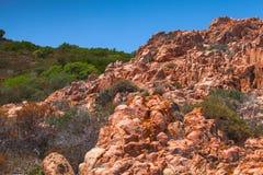 Corse-du-Sud wild nature. South region Stock Images