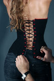 Corset, stays, girdle Stock Images