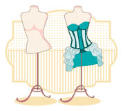 Corsets Royalty Free Stock Image