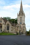 Corsham Parish church Royalty Free Stock Photo
