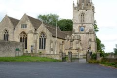 Corsham Parish church Royalty Free Stock Image